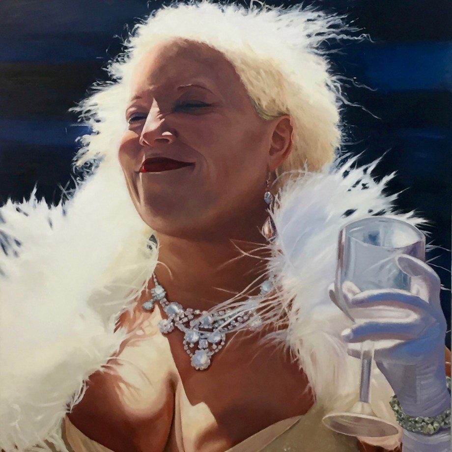 Title: Lady Fillmore Medium: Oil on linen Size: 72 x 48 inches