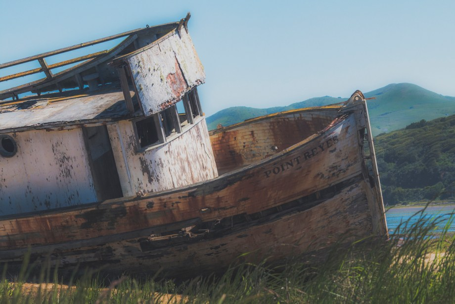 Title:Point Reyes Shipwreck Medium:	Photography Size:	16x20