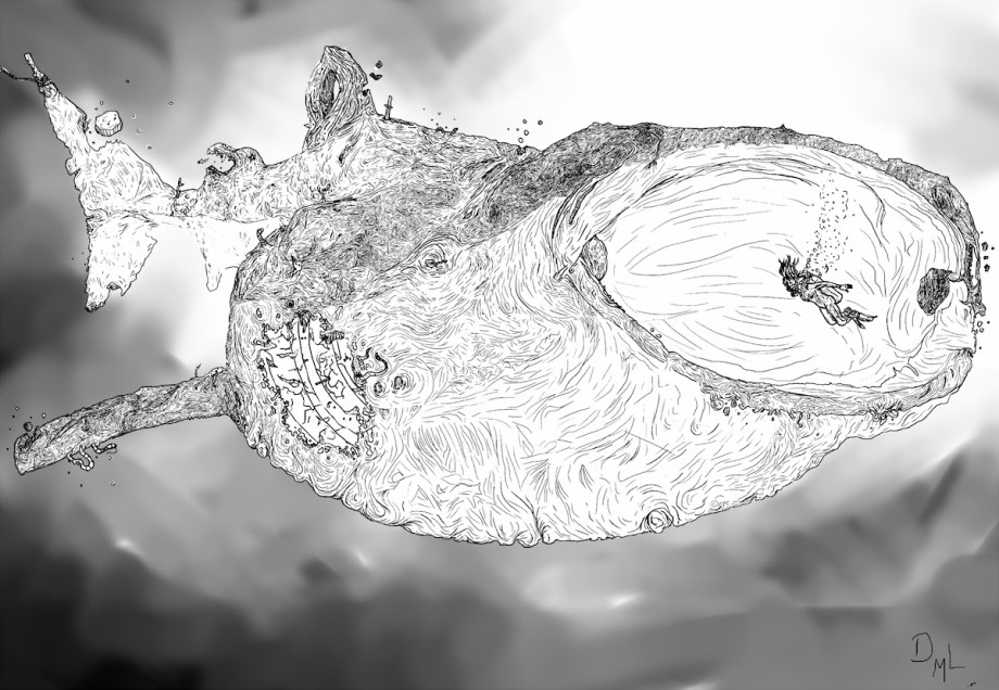 Title:Whale Rot Medium:	Digital Size:	2000x1384