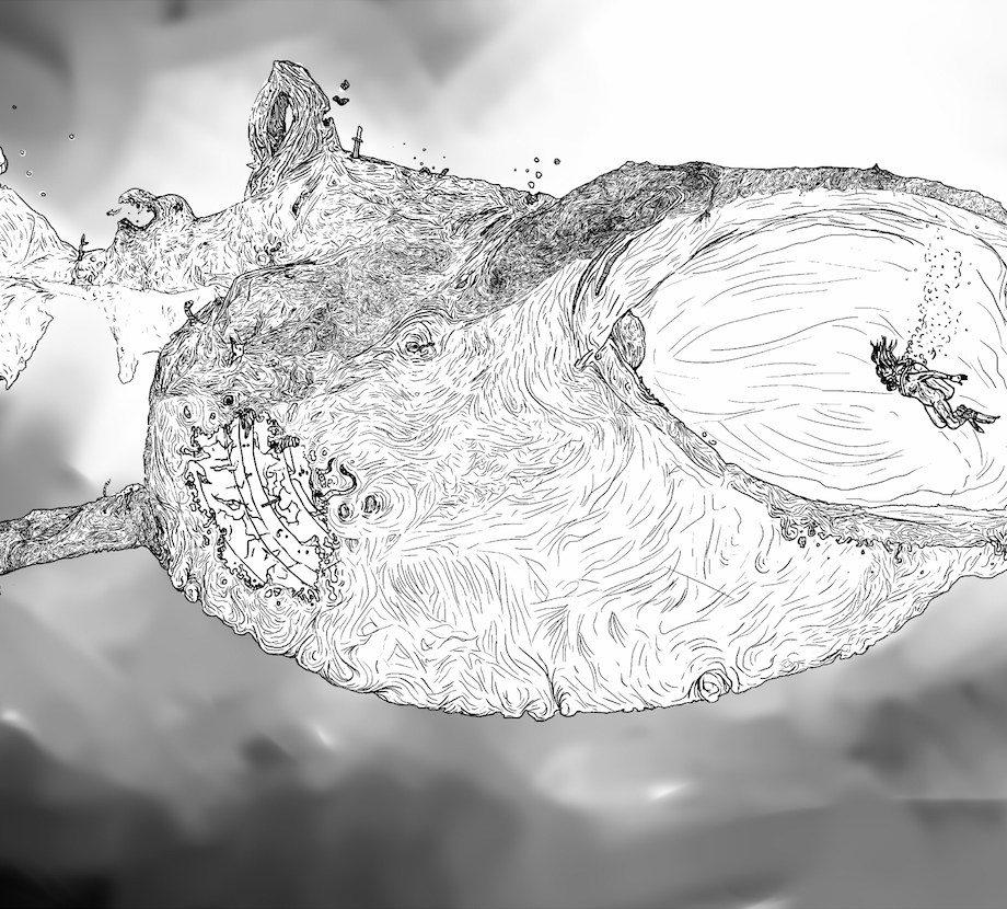Title: Whale Rot Medium: Digital Size: 2000x1384