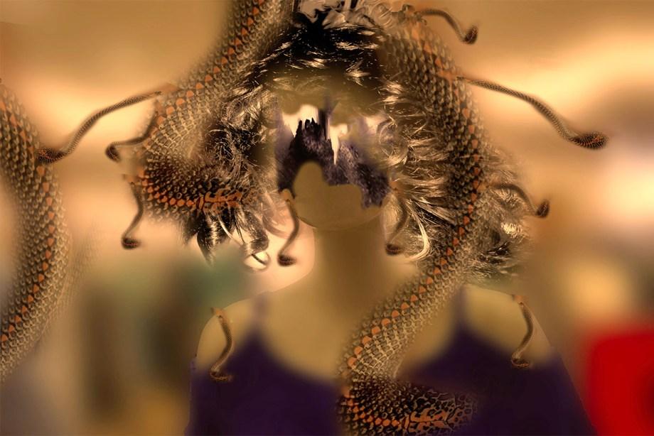 Title:Reptilian Dream Medium:Digital Print Size:11 X 14