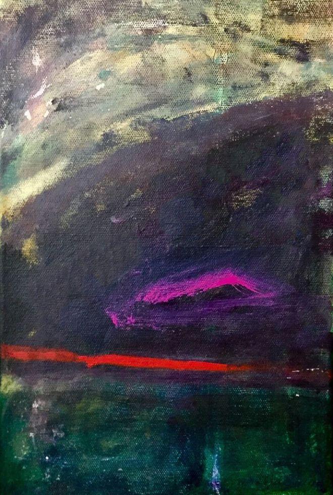 Title:Passage Medium:Acrylic on Canvas Size:20x30 cm