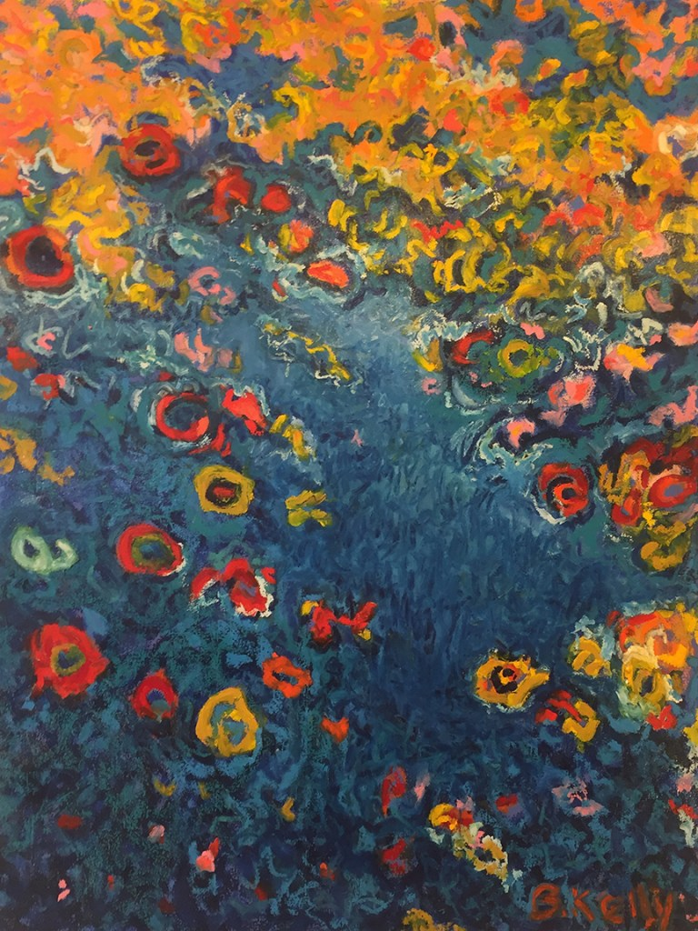 Title:Spring Waters Medium:	Oil on canvas Size:	40' X 30""