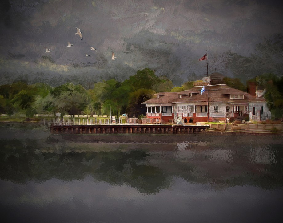 """Title Clouds Over The Harbor Medium Photography Size 24"""" x 18"""""""