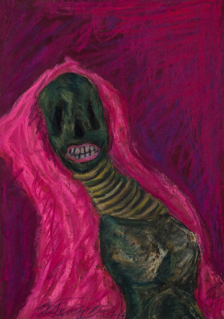 Title:Cronos Medium:pastel on paper Size:20x30 cm