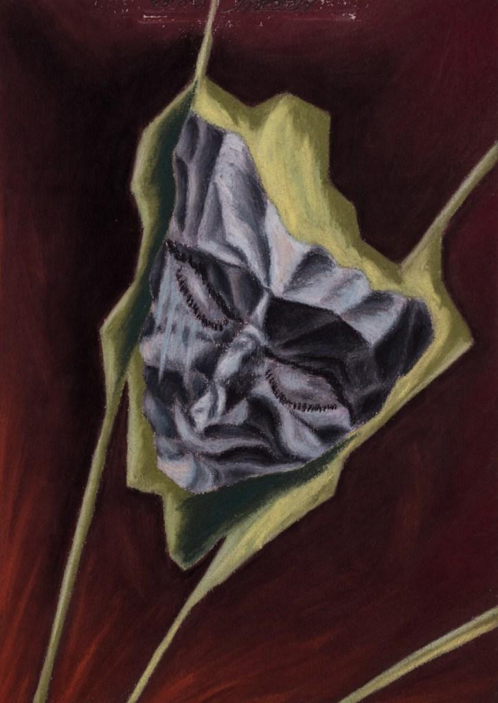 Title:Autoportret Medium:pastel on paper Size:20x30 cm