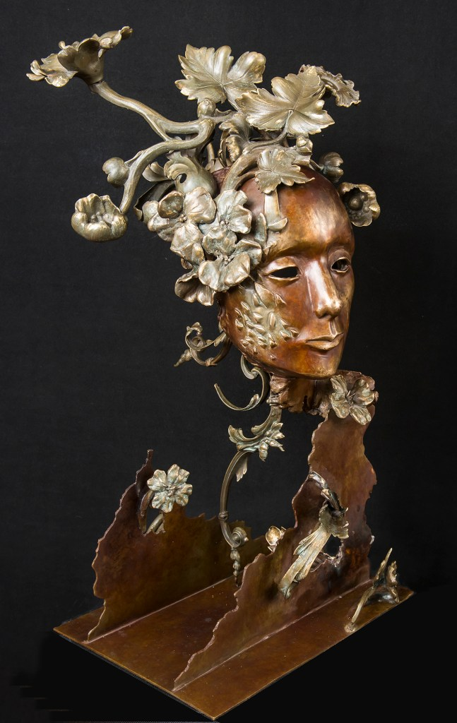 """Title BIRTH OF EVE Medium SCULPTURE Size 18"""" by 13"""" by 9"""""""