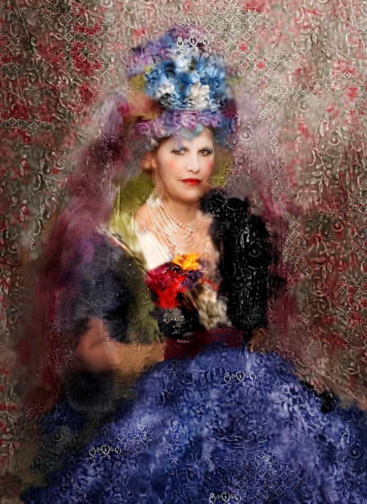 """Title lady in waiting Medium photography Size 20"""" x 24"""""""