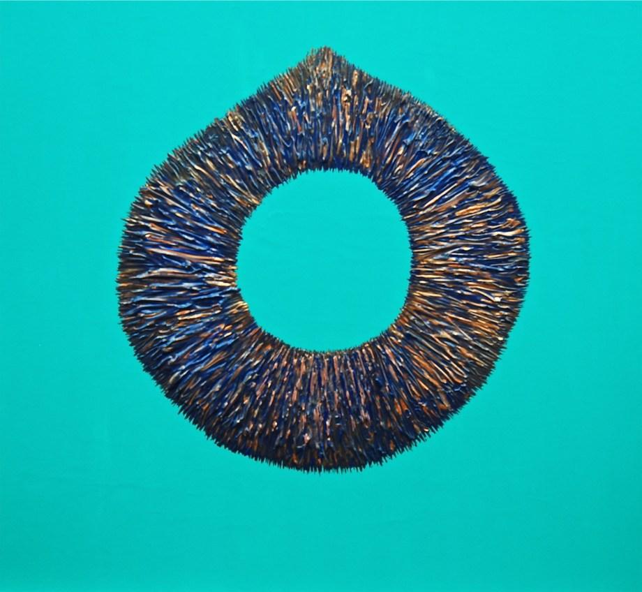 "Title Necklace 2 Medium Acrylic Size 30"" X 30"""