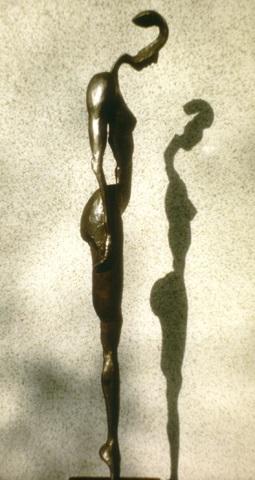 Title Contemplative Medium Silicon Bronze Size 34x8x5