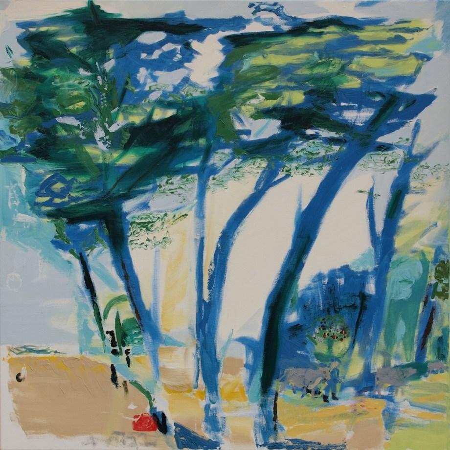 Title Ukrainian Pastoral Medium Oil on canvas Size 90 x 90 x 2 cm