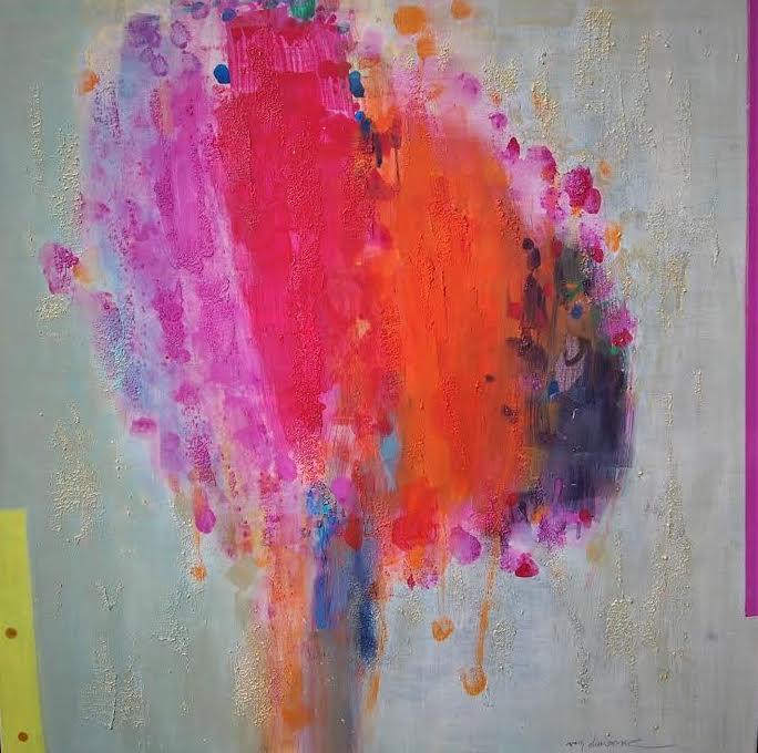 Title Dreaming Tree 2017 Medium Acrylic on canvas Size 110 cm x 110 cm