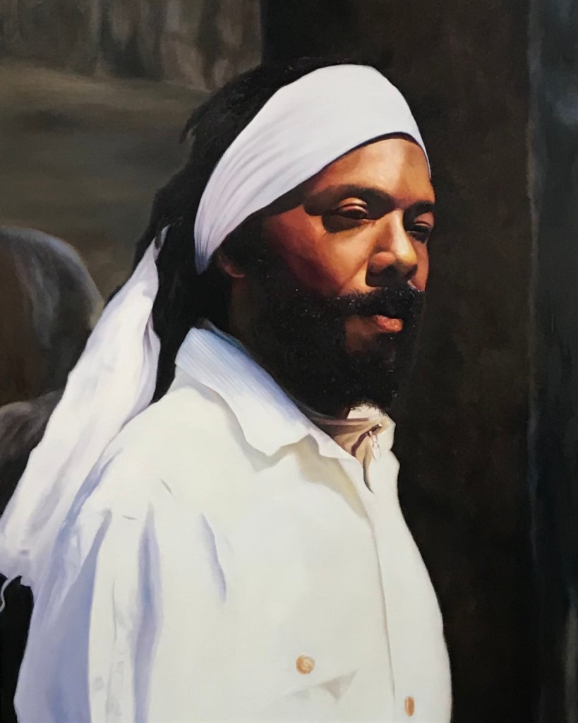 Title William Medium oil on linen Size 80 x 64 inches