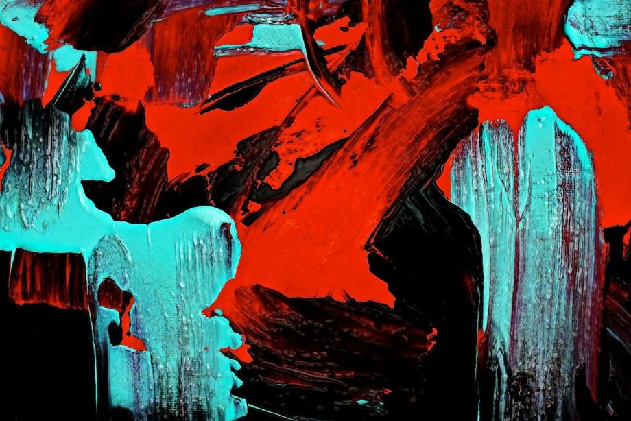 "Title ""Bewitch"" Medium Mixed-Media Digital on Acrylic Size 30X20"