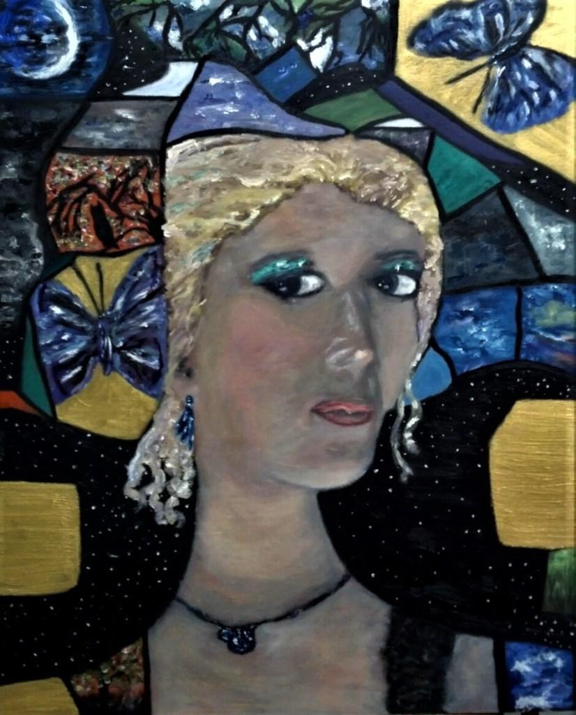 Title Self-Portrait Medium Oil on Wood Panel Size 29.75x24