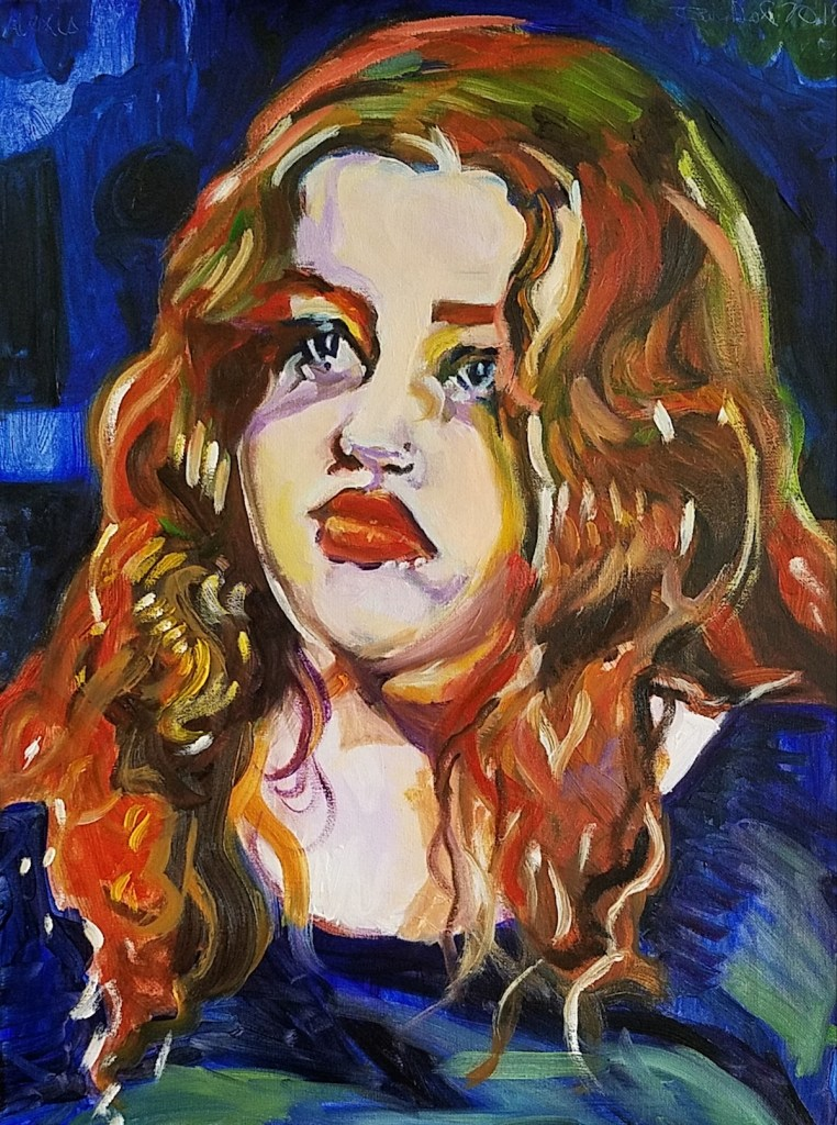 Title Alexis Medium oil Size 18x24