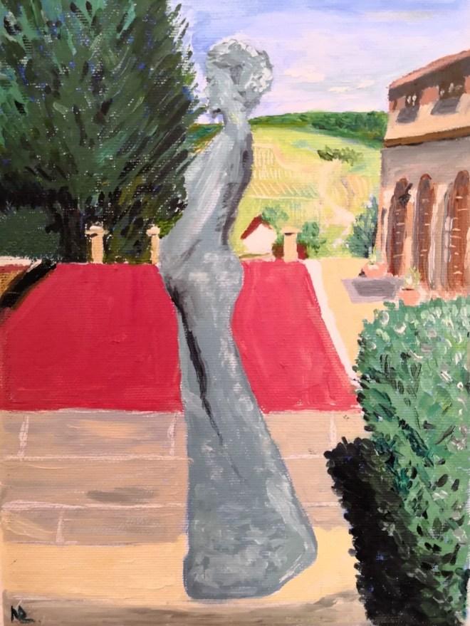Title Eternal moment Medium Oil on canvas Size 18*24