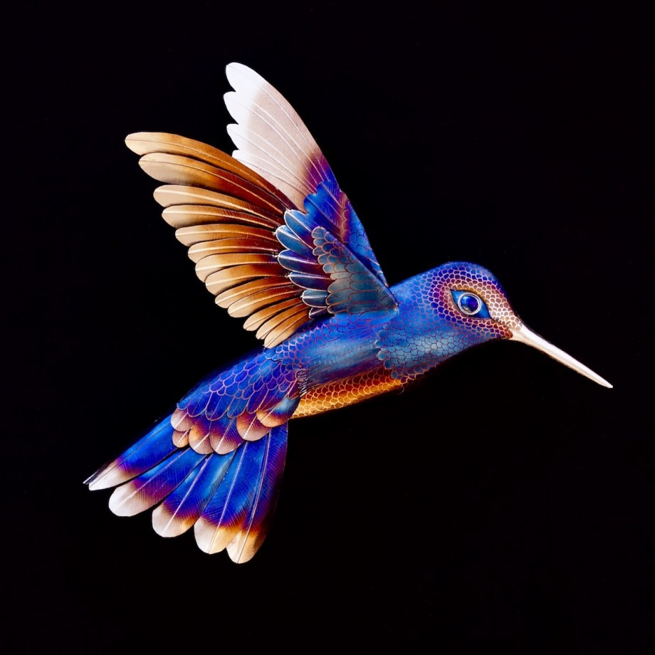 "Title Hummingbird Medium Stainless Steel Size 34"" Wide X 35"" Tall X 14"" Deep"