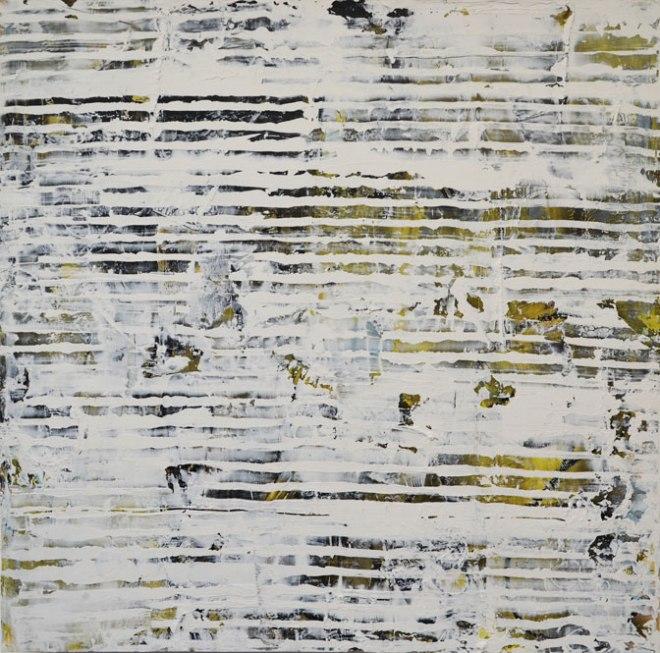 "Title Moss & Stone Medium acrylic, mixed media on wood panel Size 30x30"""