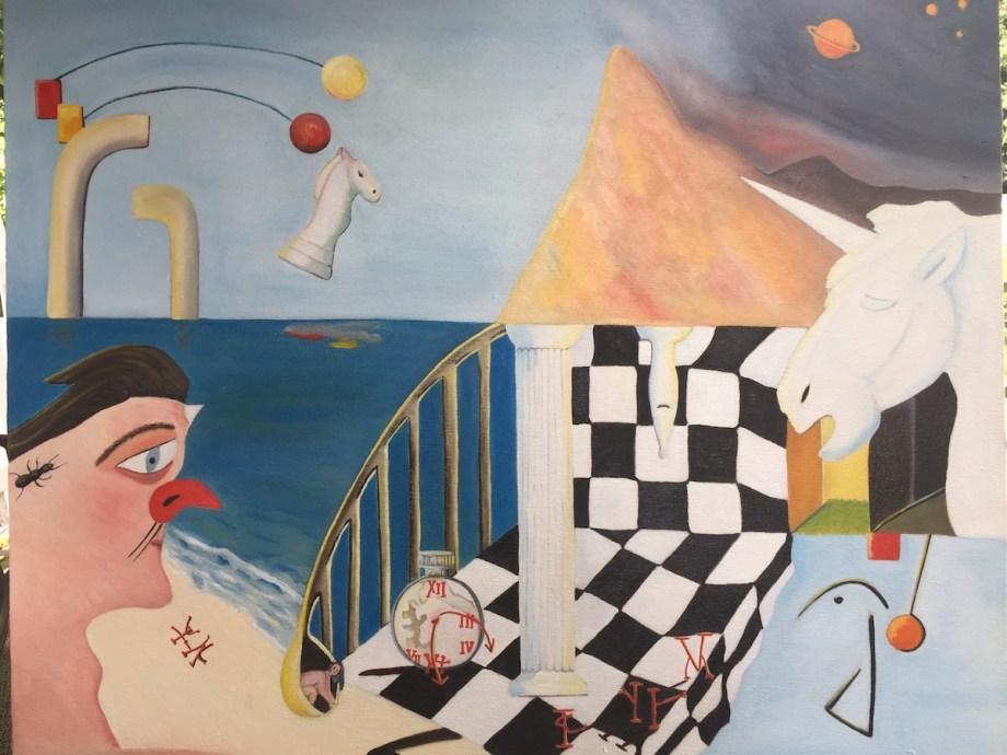 "Title Timeless Medium oil on canvas Size 30""x36"""