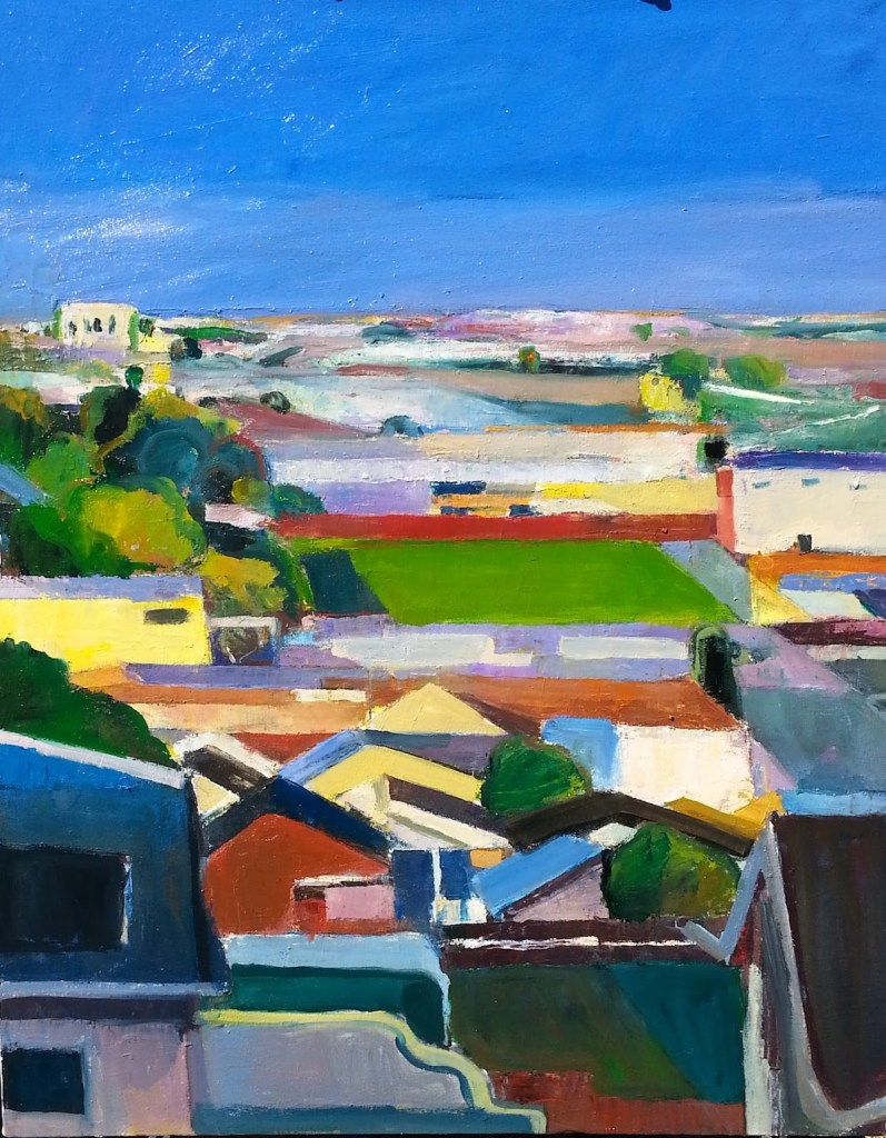 "Title Lawlor Street Medium Oil on cnavas Size 24"" x 30"""