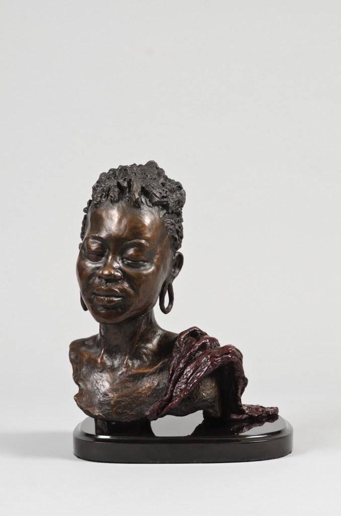 "Title Jamila Medium Bronze Size H 18"", W 8"", D 12"""