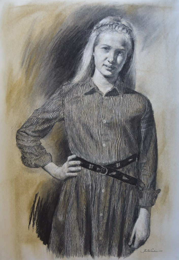Title Maren Medium Charcoal Size 100cm x 70cm