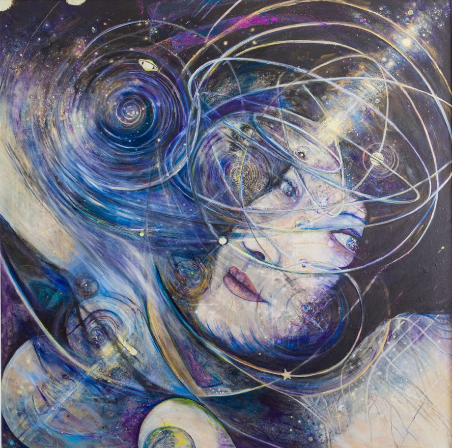 Title Maraña Medium Acrylic on Canvas Size 4ft x 6ft