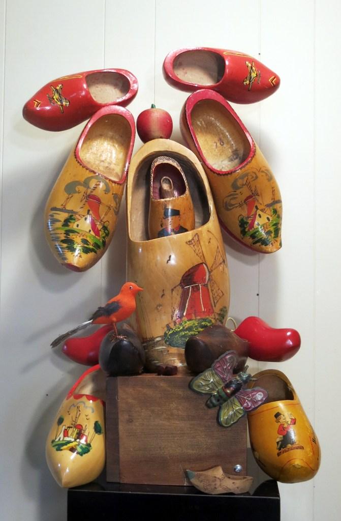 Title Abnoba Medium Found Object Sculpture Size 16H x 12W x4D