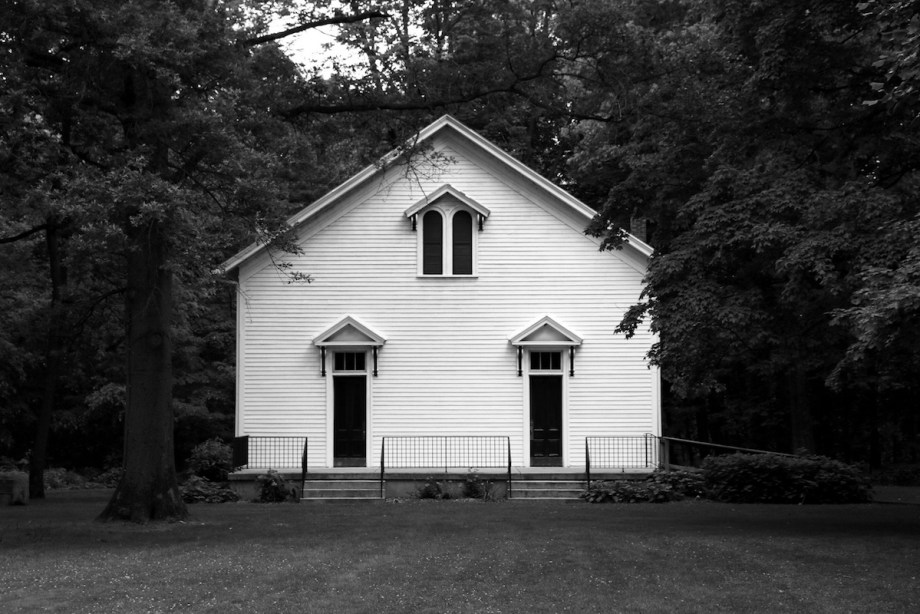 "Title Funk's Grove Church, 2016 Medium Photography Size 8""x12"""