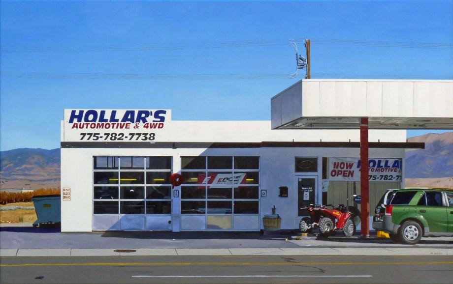 "Title Hollar's Medium acrylic Size 29"" x 37"""