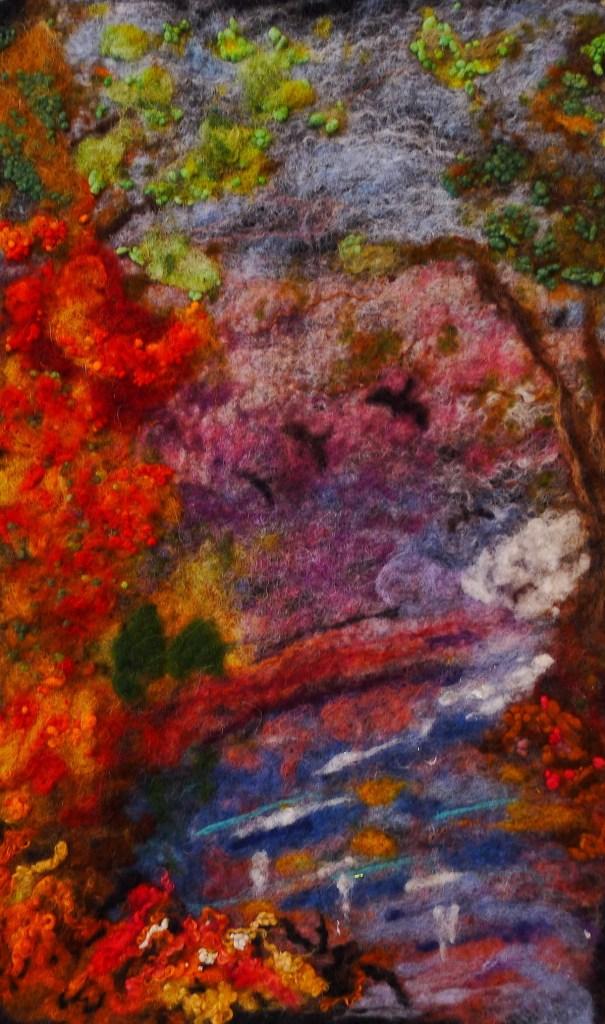 Title Autumn Hymn Medium Mixed Media Size 30cm x 50cm