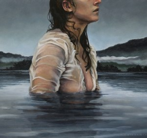 Title Beloved of a Falling Song Medium Oil on panel Size 8 x 10 inches