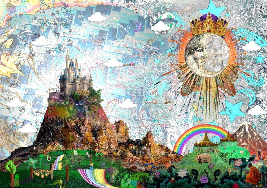 Title The Fantastical Imaginarium Medium Digital Collage Size 33.1 x 46.8 in