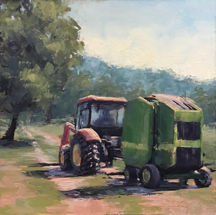 Title ... Off Again Medium Oil on Wood Panel Size 6x6
