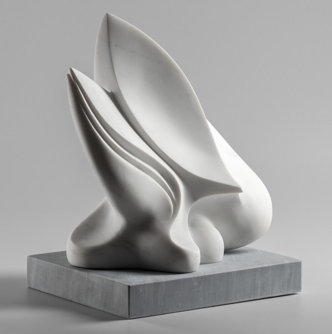 Title Artemis Medium Statuary marble of Carrara, base is Bardiglio Size 21 x 16 x 13 inches, 53.3 x 40.6 x 33 cm