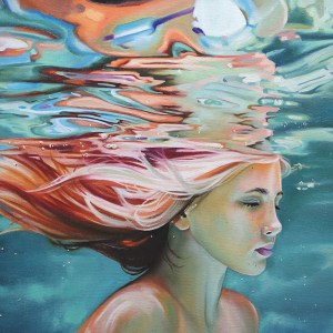Title Spotless mind Medium oil on canvas Size 40x50cm