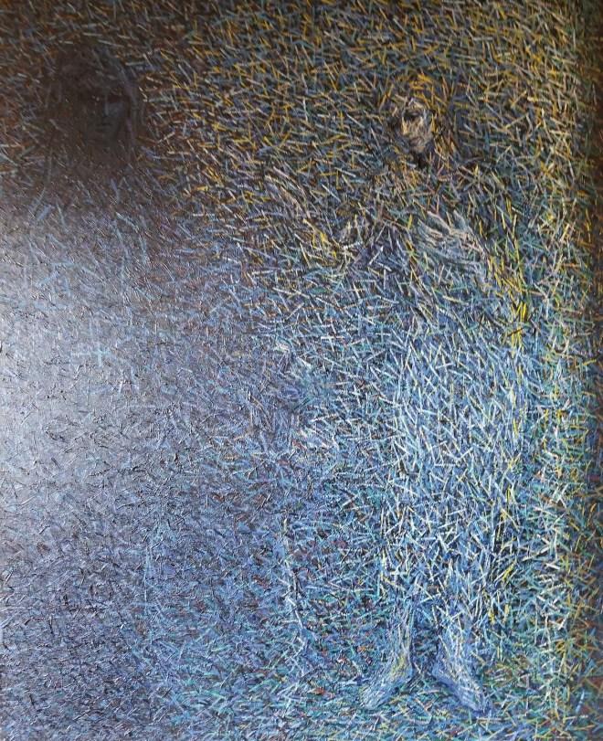 Mercy Medium Oil on Canvas Size 60 x 48 x 1.5 in