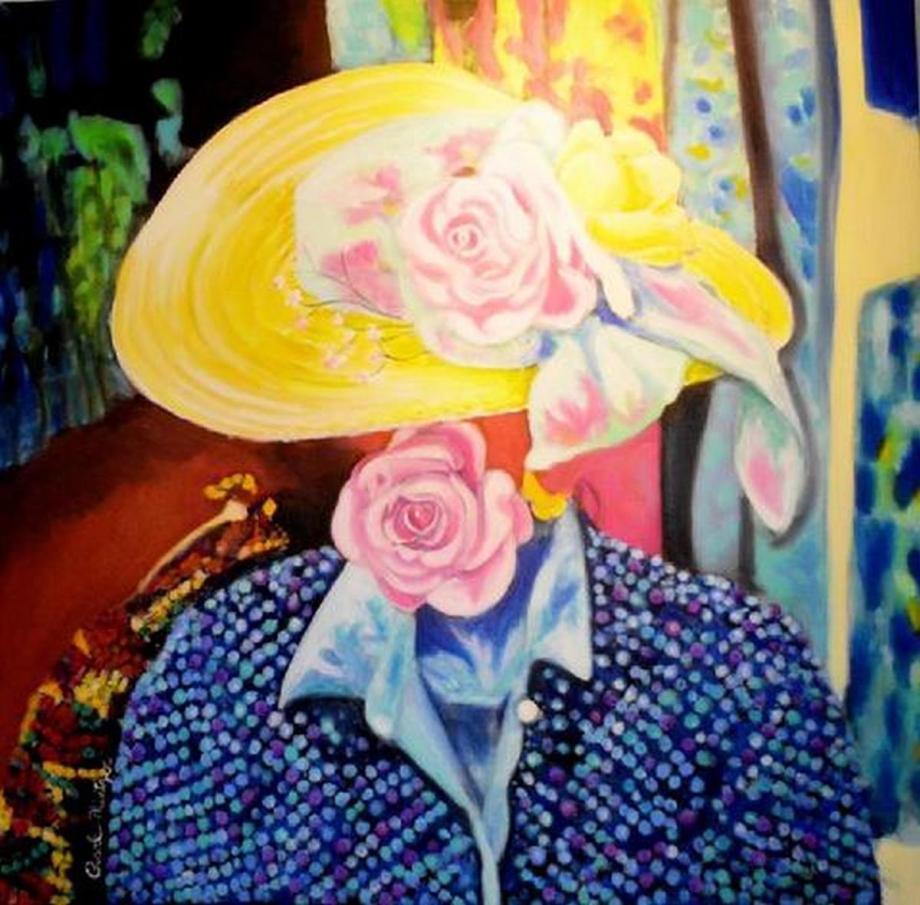 Mod Hatter Medium Oil Size 38x38