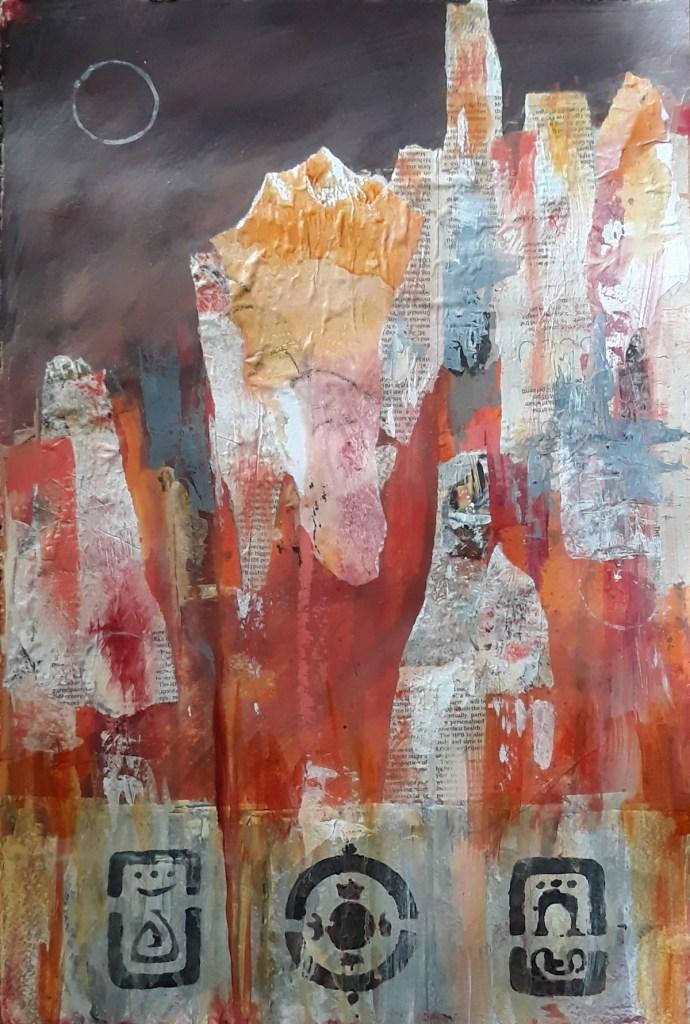 Sedona Medium Acrylic Size 22 x 15