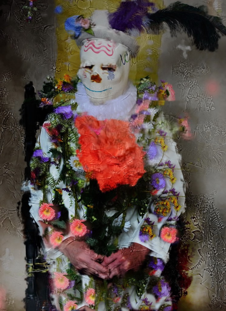 Dia Del Los Muertos | digitally manipulated photograph | 20x30