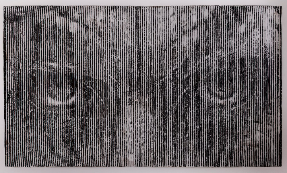 Memento Mori aka ad Verbum [?] v.11.13 | Mixed Media over Paper | 100 x 169 cm.