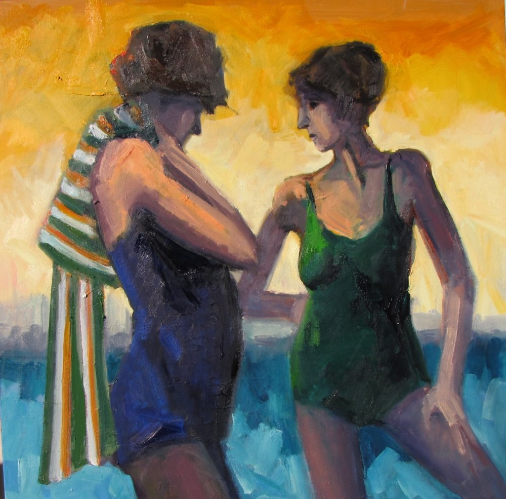 Conversation | Oil on canvas | 30 x 30 inches