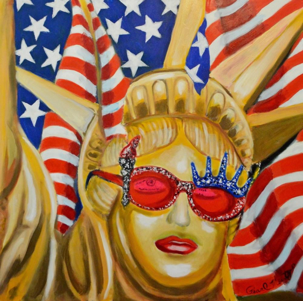Golden Liberty | Oil | 30x30