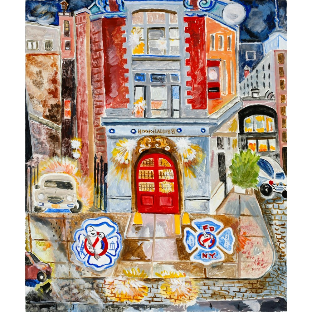 """Ghostbusters-Hook and Ladder 8 