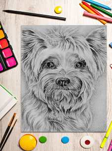 yorkie_on-craft-table