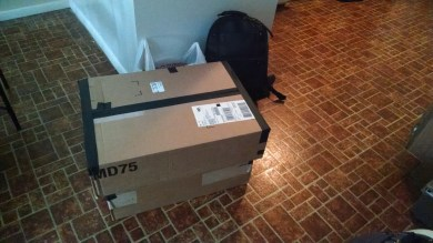 Everything is Packed and Ready to go to the Gallery