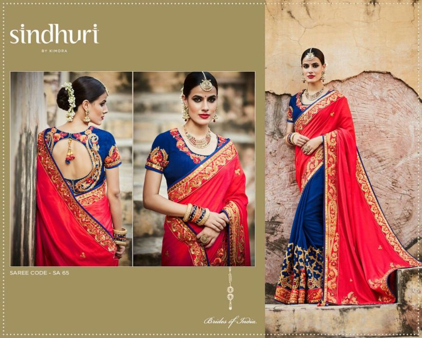 Kimora Sindhuri v5 Designer Sarees 65