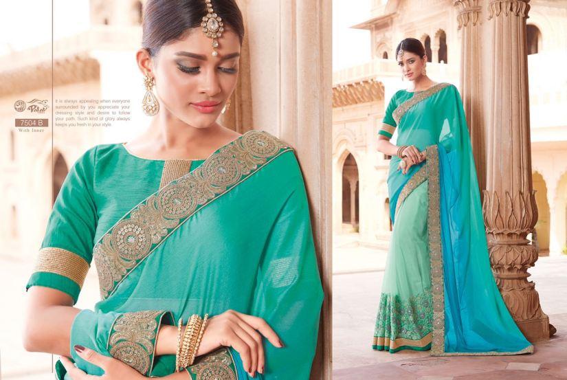 Palav Fabric Designer Saree PP7504B