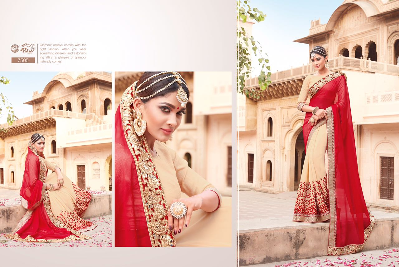 Palav Fabric Designer Saree PP7505